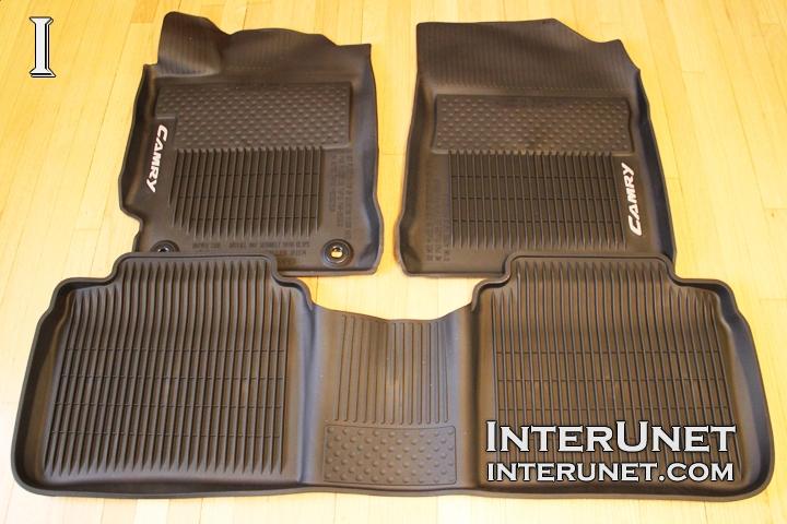 toyota camry rubber floor mats. Black Bedroom Furniture Sets. Home Design Ideas