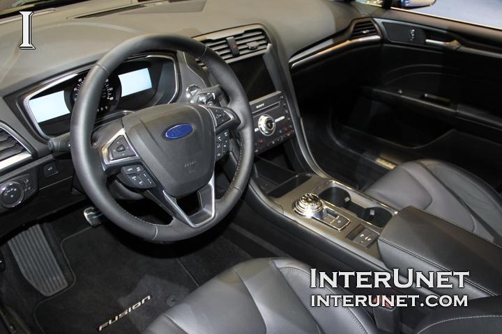2017 Ford Fusion Anium Interior