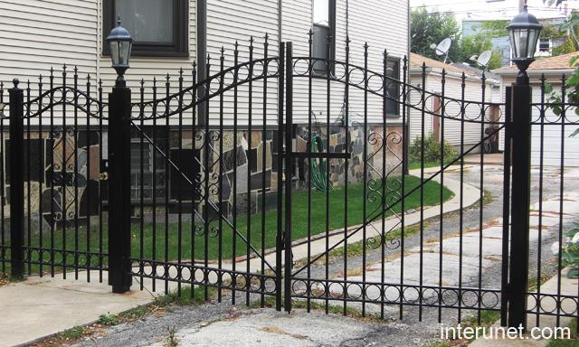 Photos Of Metal Gates And Fences Designs
